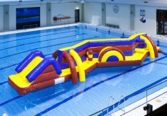 wholesale Double Amazing Inflatables Pool Games suppliers