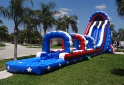 wholesale All American 2 lane Water Slide suppliers
