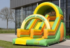 wholesale Jungle bouncy slide inflatable suppliers