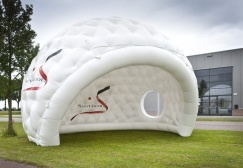 White Inflatable Golf Dome Tent suppliers