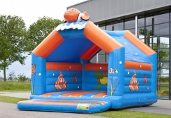 wholesale large clownfish Bouncing Castles Inflatable suppliers