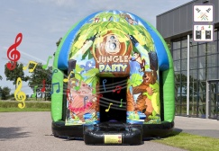wholesale Disco bounce house with removable sheet suppliers