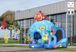 wholesale Disco Seaworld Clownfish Bounce House suppliers