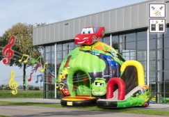 wholesale Disco Race Car Bounce House suppliers