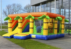 wholesale Inflatable Jungle Indoor Bouncy Slide suppliers