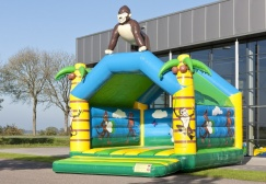 wholesale large gorilla bounce house suppliers