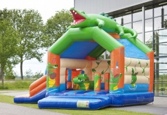 wholesale Inflatable Alligator Multifun With Slide suppliers