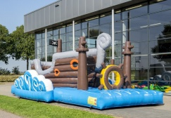 wholesale 9m Inflatable Pirate Run Obstacle Course suppliers