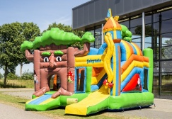 wholesale Fairytale Inflatable Bouncer Combo suppliers