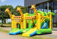 wholesale Giraffe Inflatable Combo Jumper suppliers