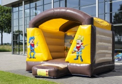 wholesale small inflatable western themed Moonwalk suppliers