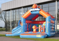 wholesale Clownfish Bounce House With Slide suppliers