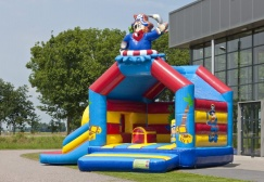 wholesale Pirate Bounce House With Slide suppliers