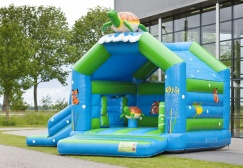 wholesale Turtle Inflatable Bouncy Slide suppliers