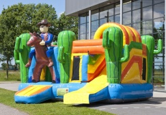 wholesale Cowboy Inflatable Multiplay Combo Jumper suppliers