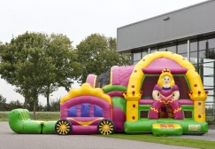 wholesale Large Commercial Princess Inflatable Combo suppliers