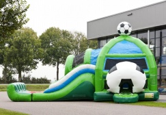 wholesale Large Commerical Soccer Inflatable Combo suppliers