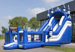 wholesale Inflatable Multiplay inflatable combo slide bounce house suppliers