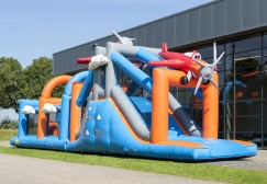 wholesale Inflatable Plane Challenging Obstacle run suppliers