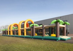 wholesale Giant Adult Obstacle course jungle theme suppliers