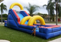 wholesale Thunder Storm Inflatable Slide suppliers