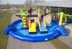 wholesale Medium Pirateship Inflatable Waterpark suppliers