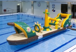 wholesale Water Safari Ship Inflatable Game suppliers