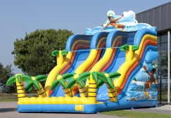 wholesale Large inflatable surfer slide suppliers