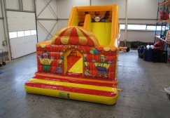 wholesale Custom Made Small Inflatable Clown slide suppliers