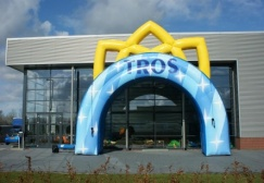 wholesale Full Print Inflatable Crown Arch suppliers