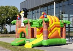 wholesale Inflatable Multiplay Pirate Combo Jumper suppliers