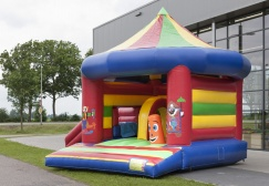 wholesale Carousel Bounce House With Slide suppliers