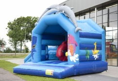 wholesale Dolphin Bounce House With Slide suppliers