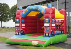 wholesale Popular China firetruck Bounce House suppliers