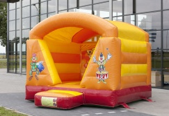 wholesale circus theme mini Inflatable Moonwalk suppliers