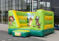 wholesale Inflatable jungle mini moonwalk suppliers