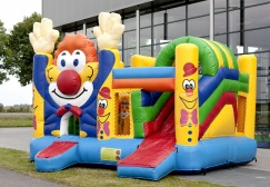 wholesale 3 in 1 Clown Inflatable Slide Combo suppliers