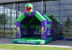 wholesale Dino Inflatable houses for kids suppliers
