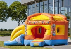 wholesale Pentagon Circus Inflatable Moonwalk suppliers