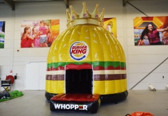 wholesale Custom Burger King Inflatable dome suppliers