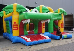 wholesale Crocodile Inflatable Bouncy Slide Combo suppliers