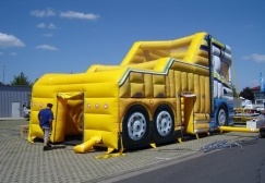 wholesale Yellow Inflatable Truck House Tent suppliers