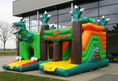 wholesale Multiplay Dino Bouncy Slide Combo suppliers