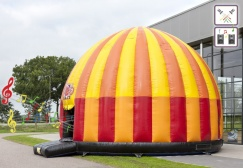 wholesale large mega Inflatable disco fun Domes suppliers