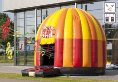 wholesale 5M Disco Fun Bounce Houses suppliers