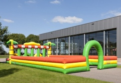 wholesale Jungle Running Horse Inflatable Track suppliers