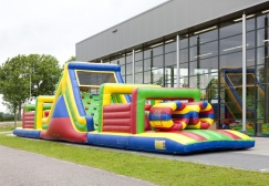 Cheap inflatable obstacle course slide suppliers