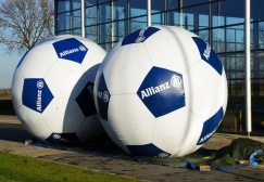 wholesale Airtight Inflatable soccer balloon suppliers