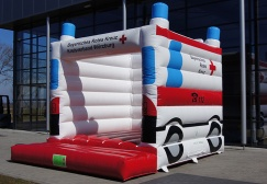 wholesale Inflatable Ambulance Bounce House suppliers