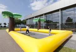 Beach Inflatable Volleyball Court Suppliers